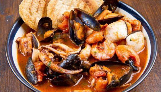 Fabulous fish stew