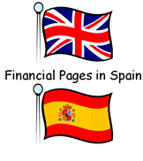 Financial Pages in Spain