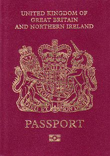 British Embassy - passport