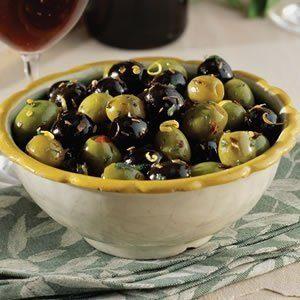 Spanish Recipe - spicy olives