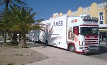 Matthew James Removals & Storage SL