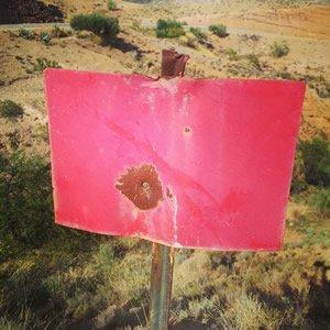 Spanish hunting sign