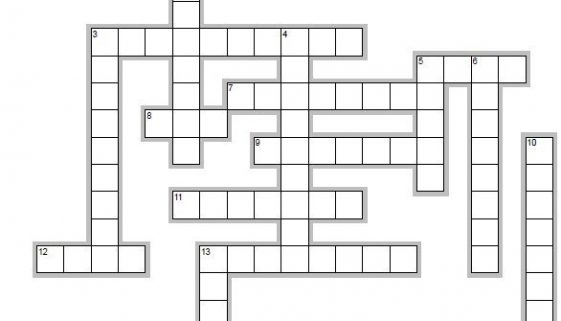 Learn Spanish words beginning with D - crossword