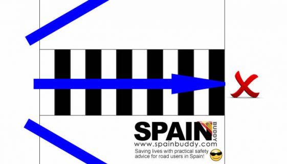 Pedestrian crossings in Spain