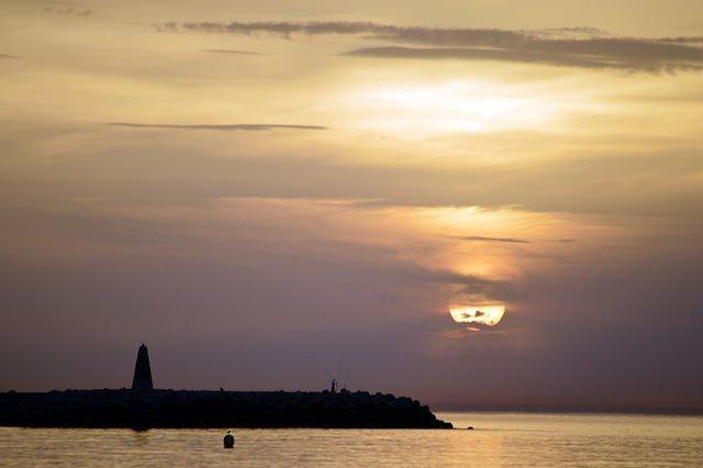 Sunrise at Benalmadena