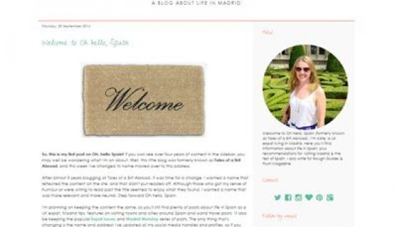Blog of the month - 2014 month 09
