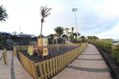Lanzarote news - Renovated play areas for Puerto del Carmen and Tías