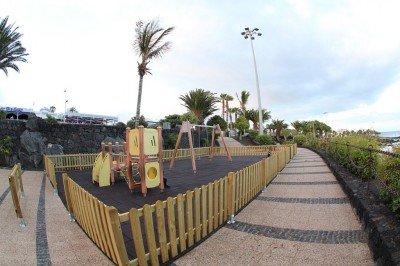 Lanzarote news - Renovated play areas for Puerto del Carmen and Tías