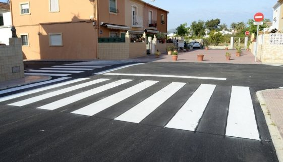 Revised road system is now live in Javea