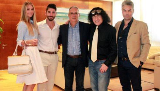 Benidorm's mayor congratulates David Climent