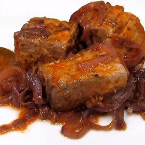 Atún Eencebollado - Spanish recipe