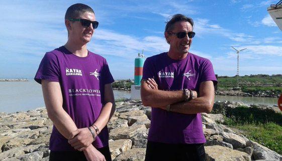 Bull Boys kayak challenge