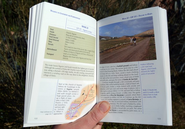Spain walking guide book review