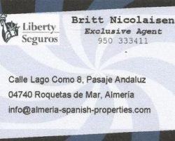 Liberty Insurance Roquetas de Mar