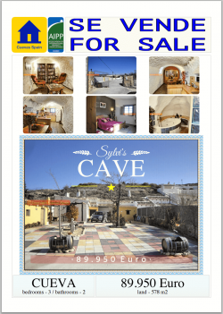 Cuevas Spain Real estate