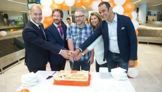 Easyjet celebrates 1m passengers to Fuerteventura