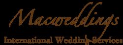 Macweddings – International Wedding Services