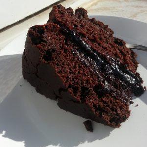 Vegan chocolate cake recipe