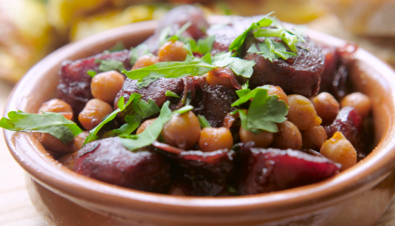 Rioja Braised Chorizo with Chickpeas