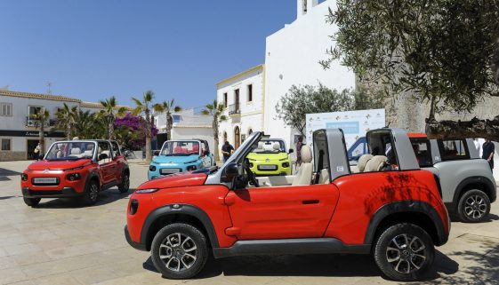 Formentera showcases Citroen E-Mehari