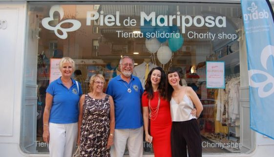 Charity shop re-opens thanks to Malaga's solidarity