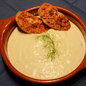 White bean and cheese dip