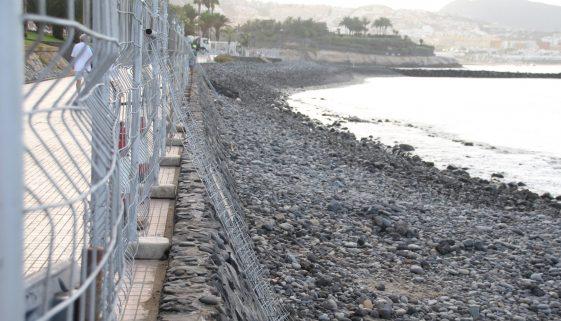 El Beril beach renovations as part of Costa Adeje improvements