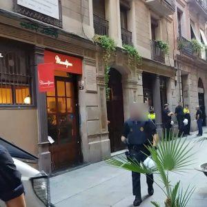 Barcelona cannabis association closed