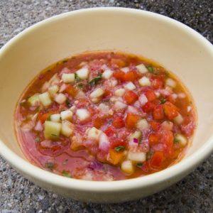 Pipirrana de Jaén recipe