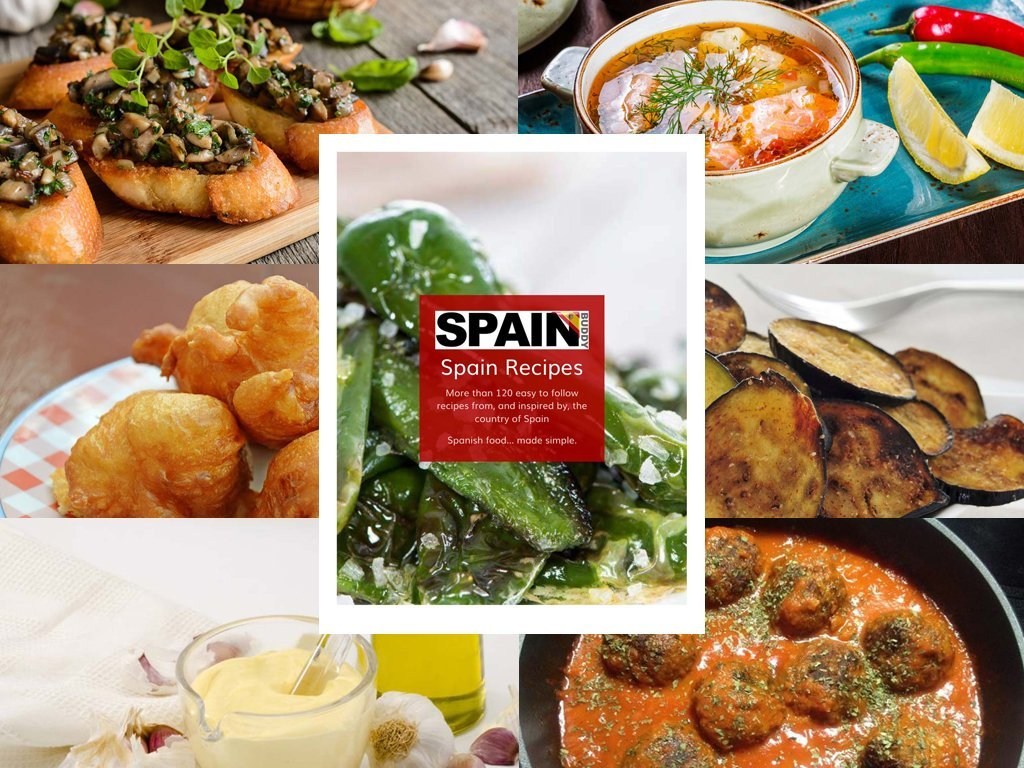 The Spain Buddy Recipes book