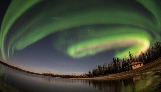 Lina Wong - The Dance of the Aurora,Fairbanks,Alaska