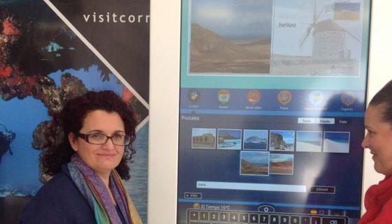 Corralejo harbour goes digital