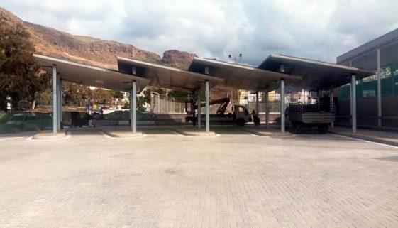 Puerto de Mogán bus station is now open