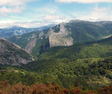 The mountains of Asturias
