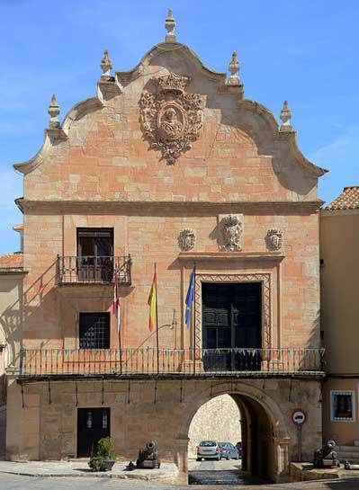 Plaza La Mancha,Chinchilla de Monte-Aragon