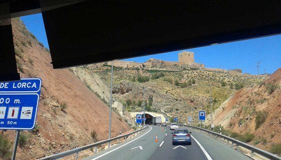 Lorca-Tunnel