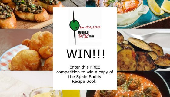 Win a Spain Buddy recipe book