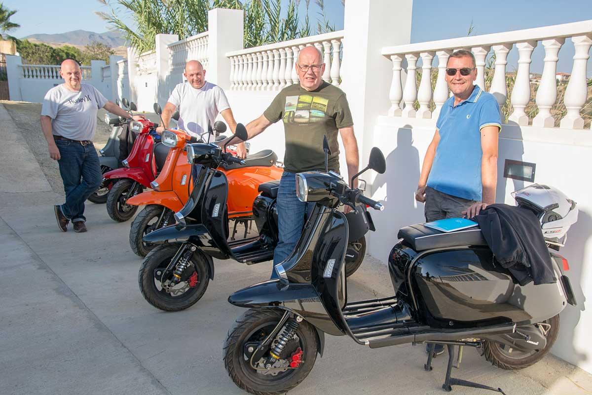 Garn Tourismo Spain scooter tours in Almeria