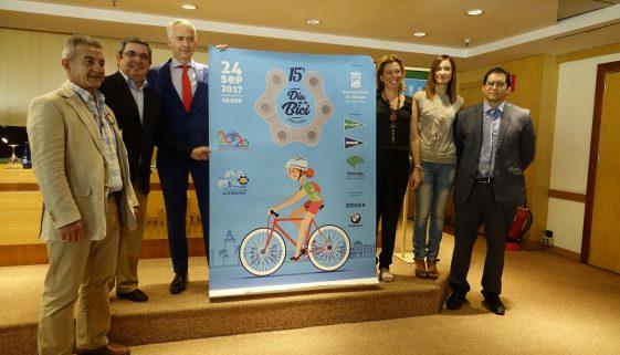 Día de la Bici in Málaga 2017