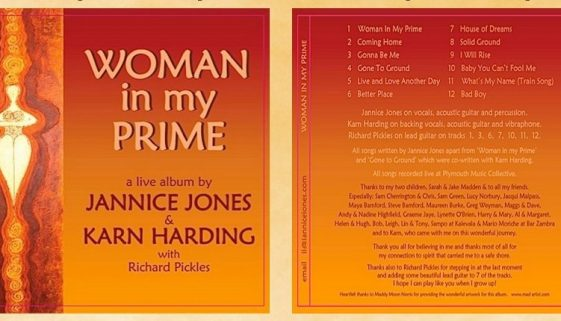 Jannice Jones' album launch