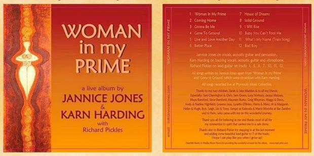 Jannice Jones' album launch