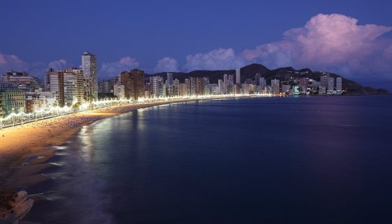 Spanish coastal town entered the top ten for stag parties in 2017