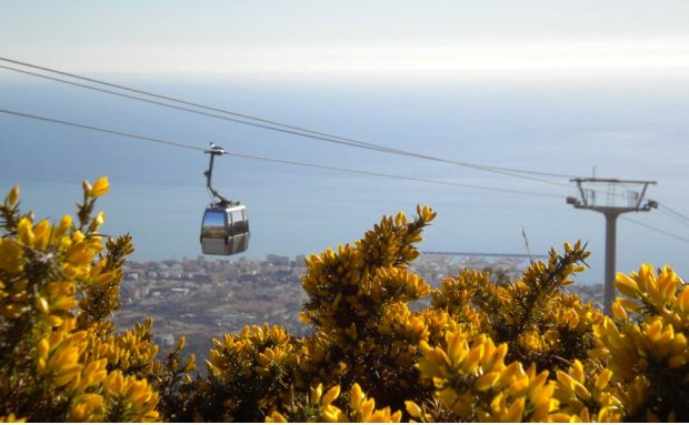 Why Andalucia is one of the world's greatest holiday destinations - Benalmadena Cable Car