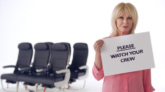 BA's new star-studded safety video