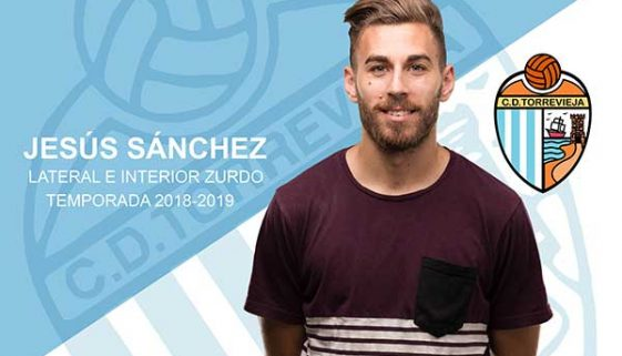 CD Torrevieja adds left-back Jesús