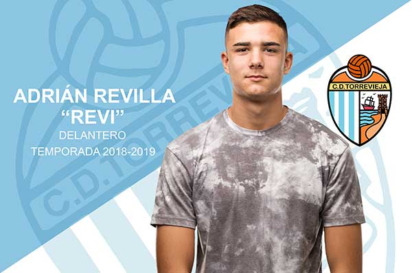 Striker Revi, new addition to CD Torrevieja