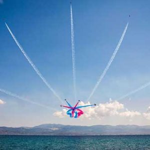 RAF Red Arrows take to the Menorcan skies in September