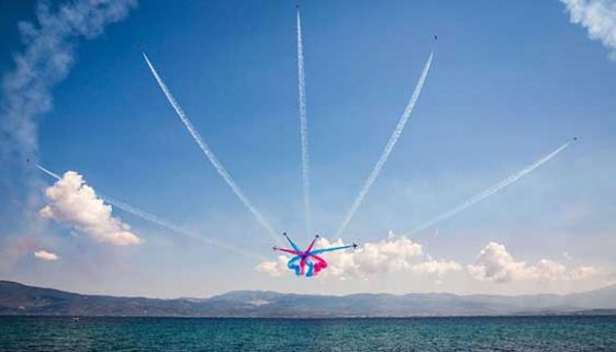 RAF Red Arrows take to the Menorcan skies in September