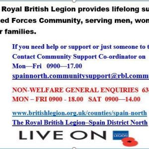 RBL in Spain Community Support