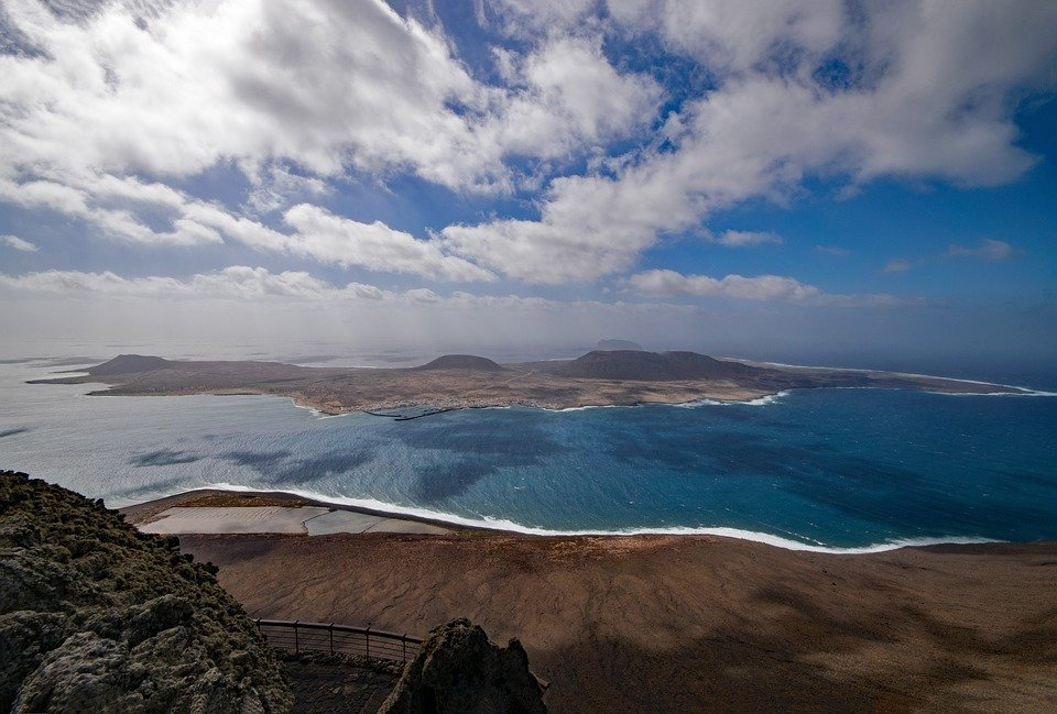 La Graciosa is now the eighth island of the Canary Islands